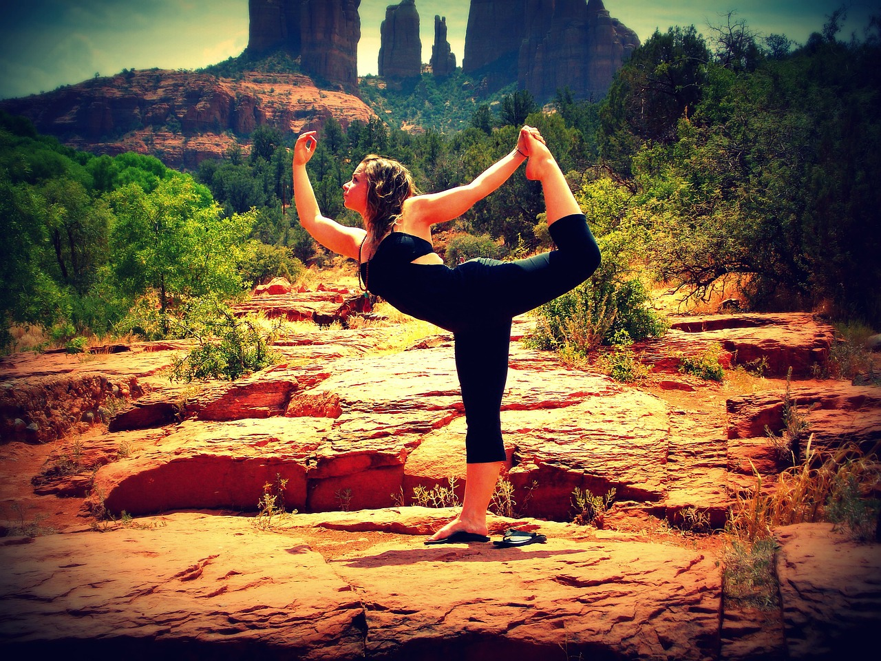 Need A Yoga Fix in Sedona