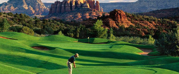 Golfing at Sedona Golf Resort