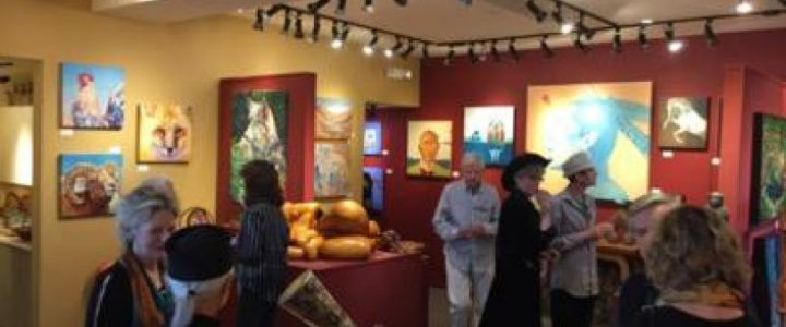 1st Friday Evening in the Galleries in Sedona