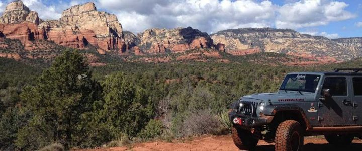 Rent a Jeep in Sedona