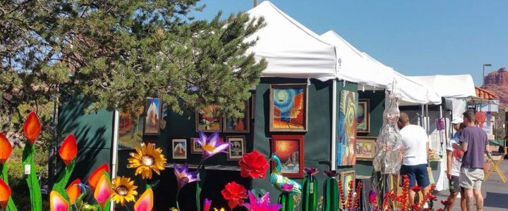 Oak Creek Arts and Crafts Show in Sedona