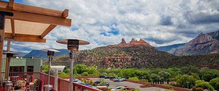 A Restaurant With A View in Sedona