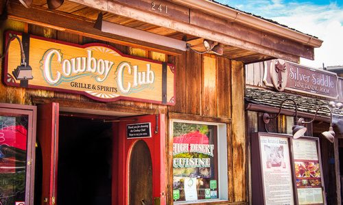 A Country and Western Restaurant in Sedona