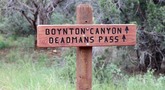 Hiking in Sedona at Boynton Canyon Trail