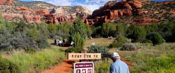 Sedona Hiking Fay Canyon Trail