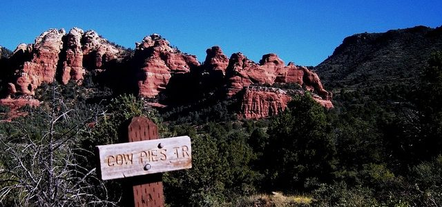 Sedona Hiking Cowpies Trail